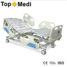 Topmedi Medical Pedal Control System Electric Hospital Bed for Sale
