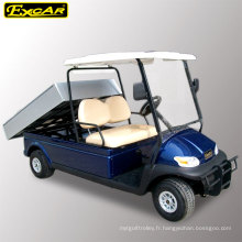 Voiture de golf utilitaire électrique approuvée de vente chaude avec cargaison