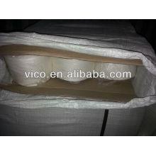 100% china rohes weißes ramiegarn