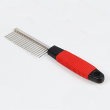 Plastic nonslip handle comb
