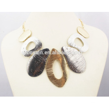 Factory Wholesale African Gold Statement Necklace & Earrings Set Jewelry Set