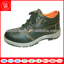 custom high neck leather safety boots