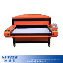 Máquina de transferência de calor de estações duplas pneumáticas de operação fácil