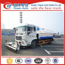 Dongfeng Kingrun 4X2 8TON calle limpieza de camiones proveedor para la venta