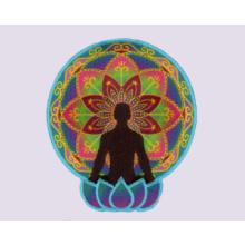 Bordado Sublimação Yoga Sport Patch