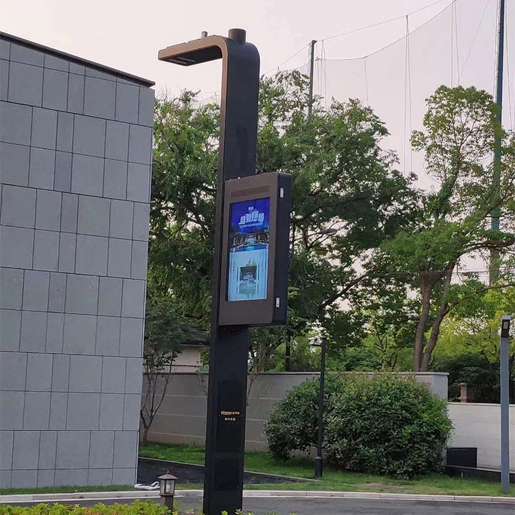 Lamp Post Pole Led Screen