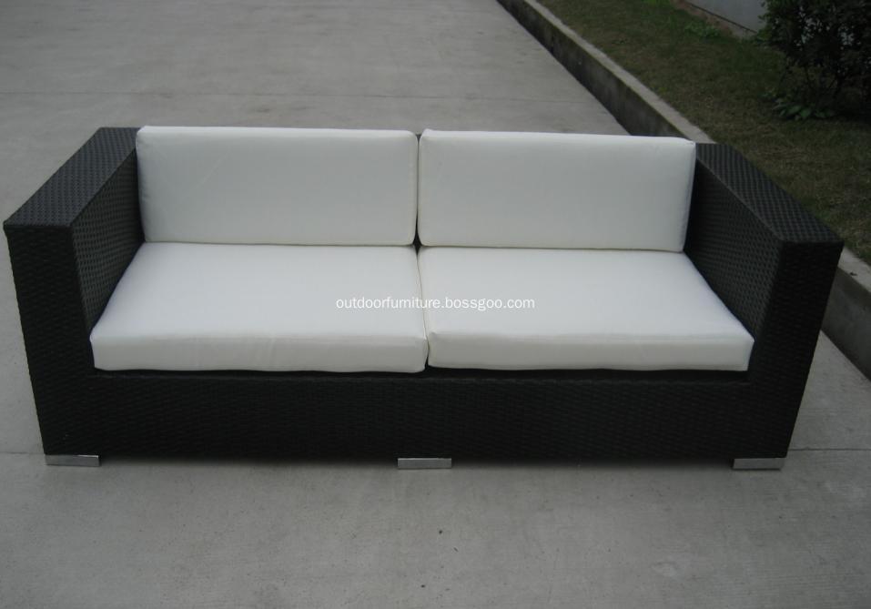 DLR1108-9 Plastic Wicker Garden Modern Leisure Sofa Furniture