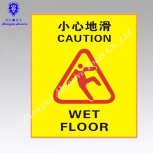 Anti slip tape with caution