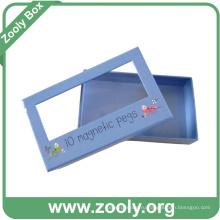 Подарочная коробка для подарочной бумаги с окном / бумажной подарочной коробкой