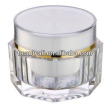 2013 nuevos envases de acrílico vacíos cosméticos