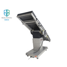 Electric hospital hydraulic operation table