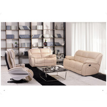 Genuine Leather Chaise Leather Sofa Electric Recliner Sofa (850)