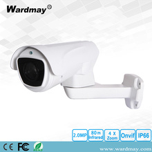 4X zoom 1080P IR Bullet IP-camera