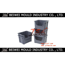 Stacking&Nesting Plastic Bin Injection Mold