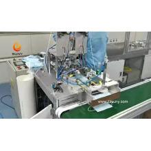 Máquina automática de fabricação de máscaras médicas N95 de venda quente