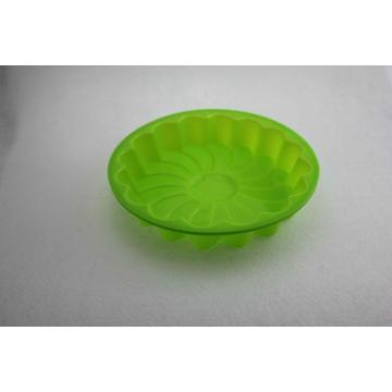 Green Flower Bakeware Mould Silicone Cake Pan