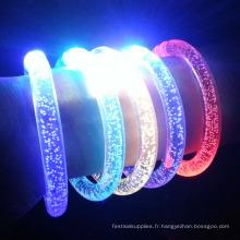 bracelet led lumière flash