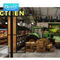 Good Quality  Shelves Supermarket Guangzhou Prices For Supermarket Woodlike Shelves