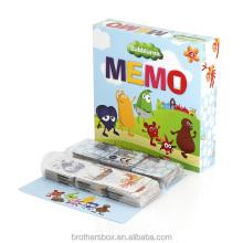 Wholesale Printing Memory cardboard Game Custom Paper Cards