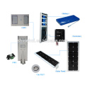 Luz de calle solar pura de la inundación con la alta calidad
