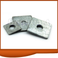 Square Washers zinc plated