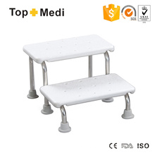 Topmedi Easy Storage Tragbarer Toilettenstuhl aus Stahl