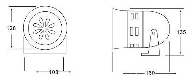 MS290 Motor Siren Measurement