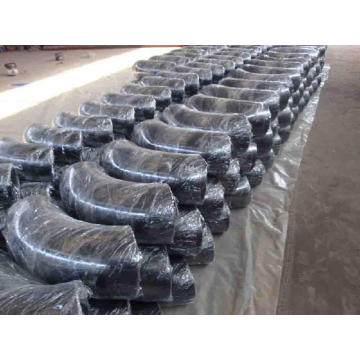 Coude en acier au carbone, CS Elbow, Lr Elbow, Sr Elbow, ANSI B16.9 A234 Wpb Elbow