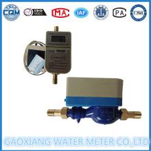 Cobre Cartão IC Doméstico Prepaid Water Meter Dn15-Dn25
