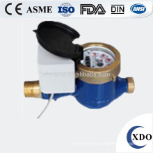 Contador del agua alejado del control de la válvula de lectura directa fotoeléctrico