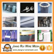 perforated metal mesh light duty / perforated metal screen door mesh