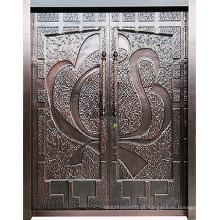 Porta de aço inoxidável de design especial