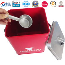 Wholesale Metal Tin Box Packaging for Detergent