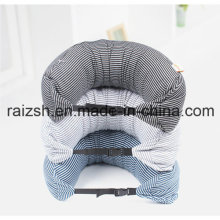 Multifunction U-Shaped Pillow Travel Pillow Cushion with Strip