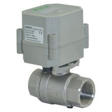 RoHS 2 voies 110-230V Vanne de contrôleur de vidange de temporisation de vanne en acier inoxydable (S20-S2-C)