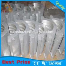 Calentador de fundición de aluminio frío calor para la extrusión de plásticos