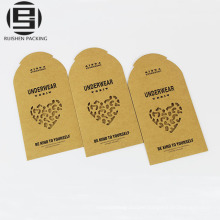 Underwear packing kraft paper envelop bags