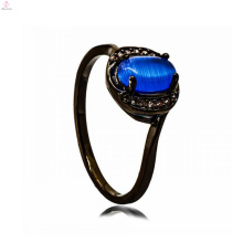Black Copper Jewelry One Stone Jewelry Shop Interior Pearl Ring Design For Man