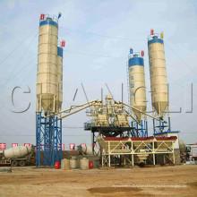Planta de mistura concreta comercial, planta de mistura concreta compacta, Hzs50