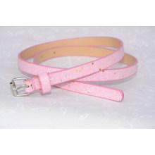 Trendy fashion glitter pink belt for kids