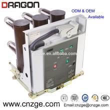VS1 12kv haute tension intérieure disjoncteur à vide / poteau intégré