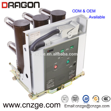 Interruptor de circuito de vacío interior de alto voltaje ZN63A-12 (VS1) 11kv 630a