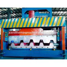 2016 High Rib Steel Metal Flooring Deck Sheet Roll Forming Machine