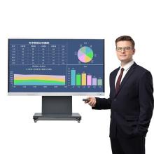 tableta inteligente con pantalla plana interactiva