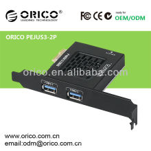 La tarjeta PCI-Express se expande con 2 puertos USB3.0 de alta velocidad