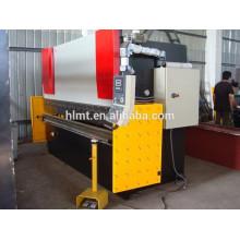 Freio de prensa hidráulica, máquina de dobra de CNC de alumínio de torque síncrono