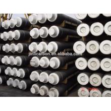 Électrode en graphite RP avec mamelons / électrode en carbone pour four à arc
