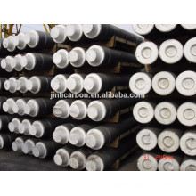 RP graphite electrode with nipples /carbon electrode for arc furnace