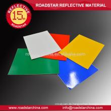 Straßenschilder Acryl Materialsicherheit reflektierenden Vinyl