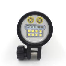 Hi-max UV9 leistungsstärkste Led Diving Taschenlampe 10000 Lumen